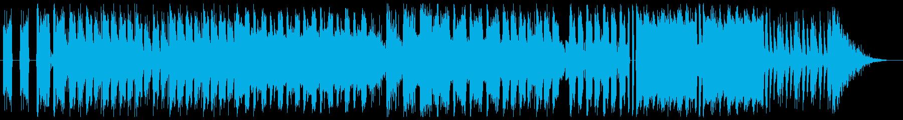 グランジ系ロックの再生済みの波形