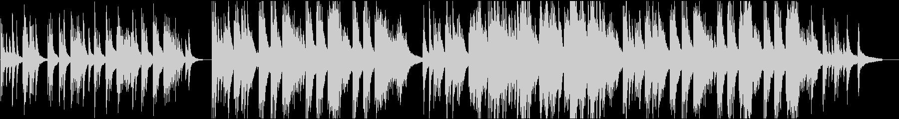 優しい 16bit44.1kHzVerの未再生の波形