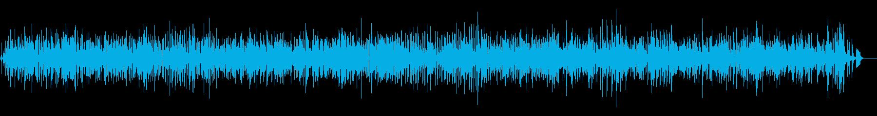 おしゃれジャズピアノ爽やかYouTubeの再生済みの波形