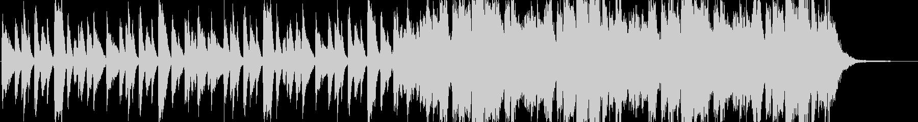 ジングル - おしゃれ雰囲気のピアノ曲の未再生の波形