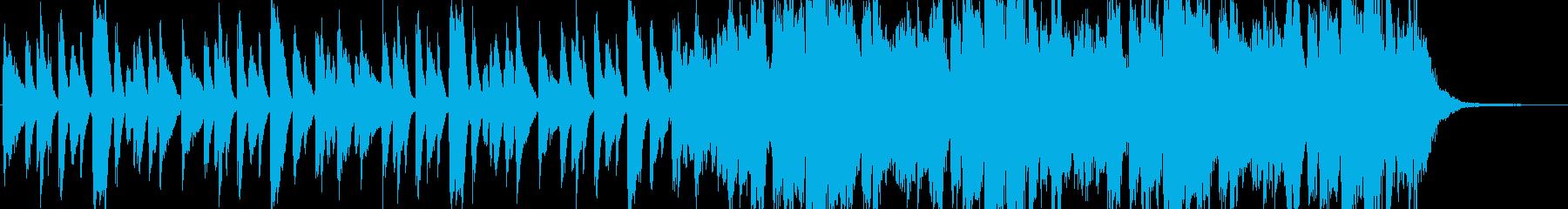 ジングル - おしゃれ雰囲気のピアノ曲の再生済みの波形