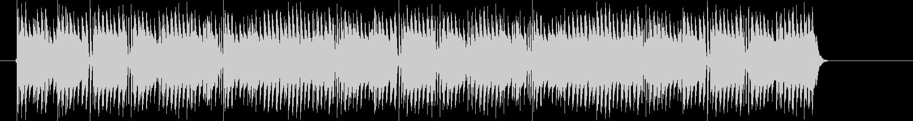 混乱しているコンピュータ音の未再生の波形
