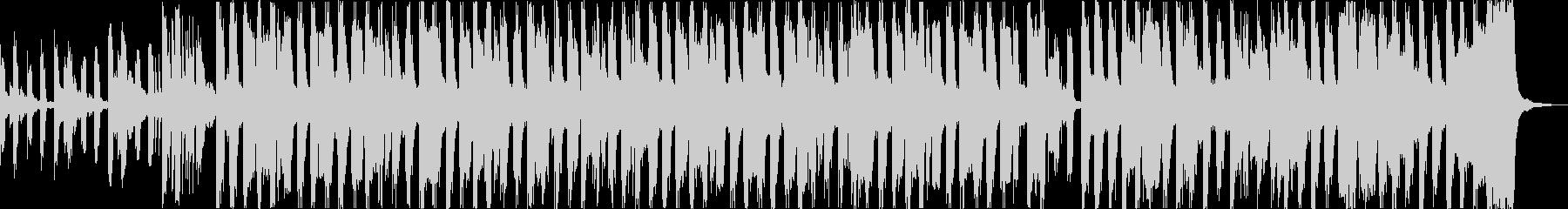 おしゃれチルヒップホップR&Bハウスbの未再生の波形
