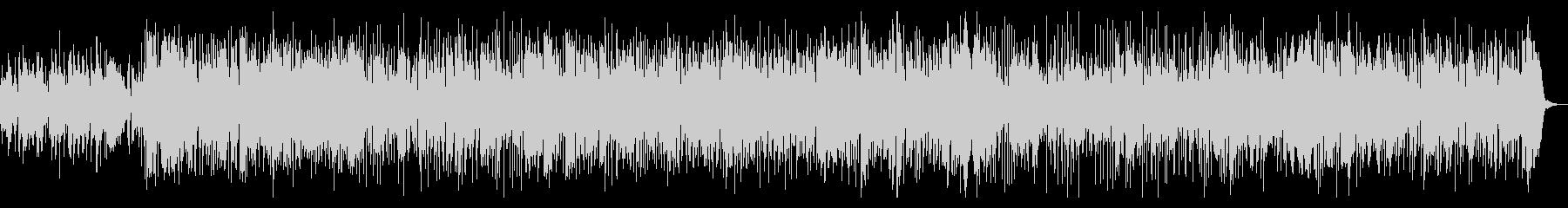 ソロの楽器が入れ替わるスムースジャズの未再生の波形