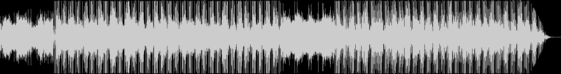 アジアンテイストのヒップホップの未再生の波形