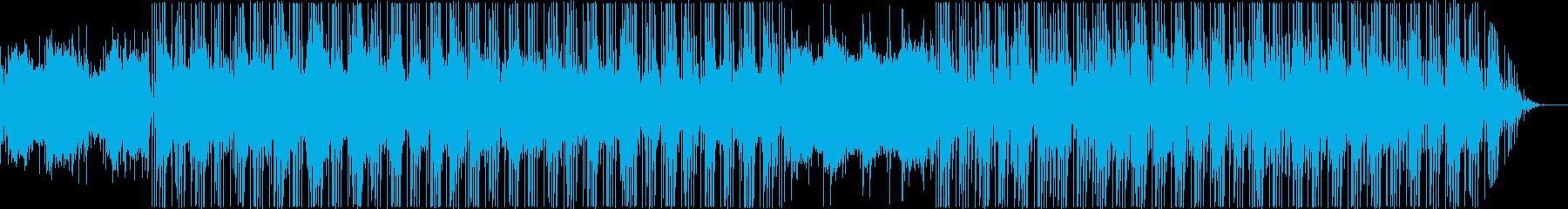 アジアンテイストのヒップホップの再生済みの波形