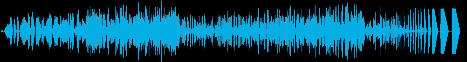 ドライトーンの電子データロールまた...の再生済みの波形