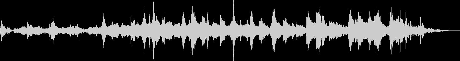 切ないピアノ ストリングス 感動の未再生の波形