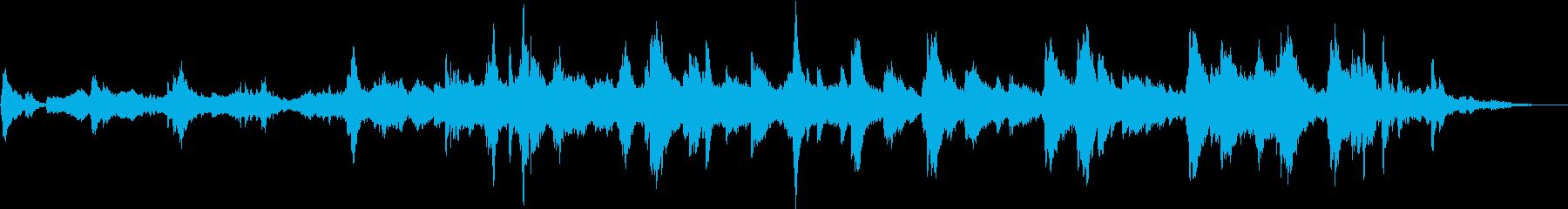 切ないピアノ ストリングス 感動の再生済みの波形