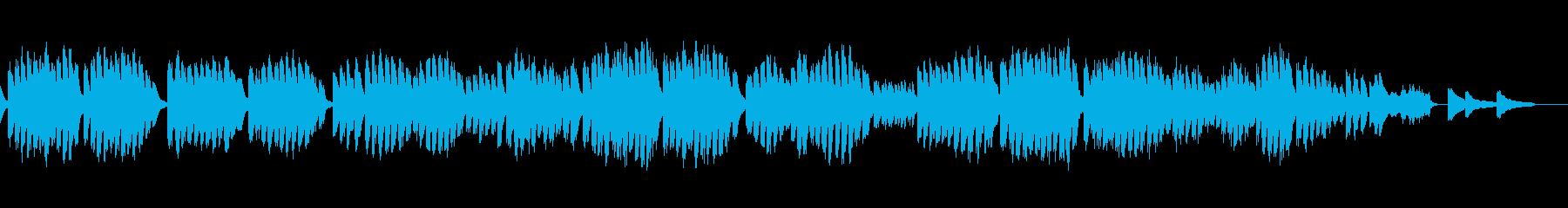 エチュード 作品25-3 オルゴールの再生済みの波形