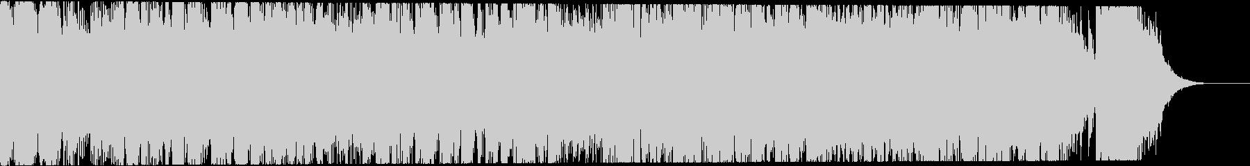 【20秒】アクション洋画風/ラジオCM用の未再生の波形