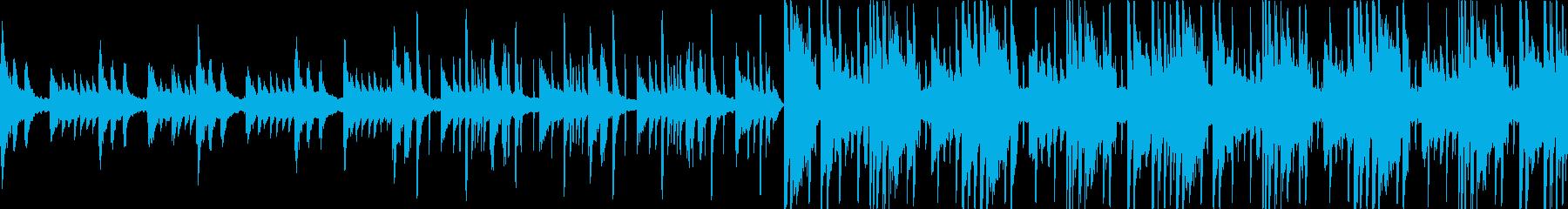 ループ、甘い雰囲気のピアノLo-Fiの再生済みの波形