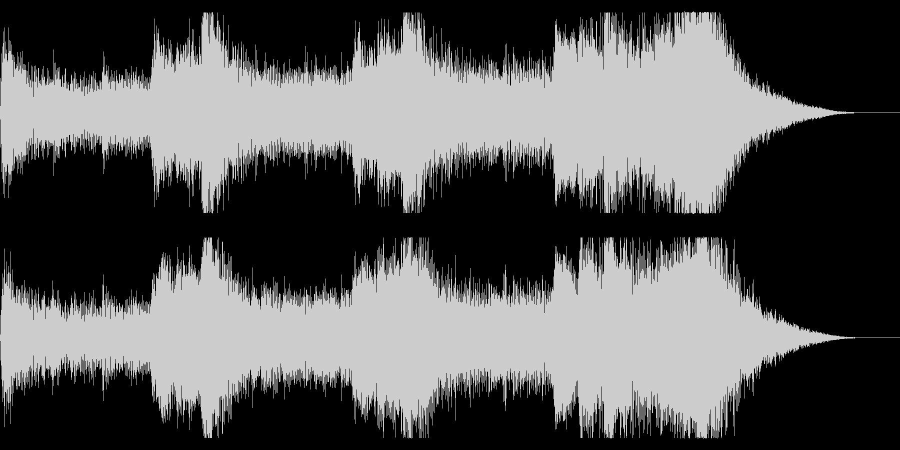 音楽、ベインステム、ドローン、プラ...の未再生の波形