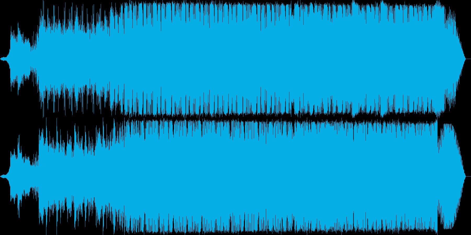 トランス風なプログレです。の再生済みの波形