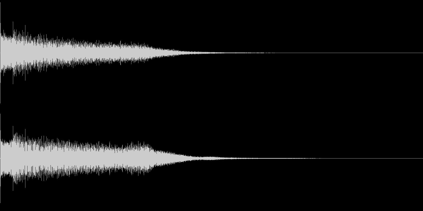 アイキャッチ 28の未再生の波形