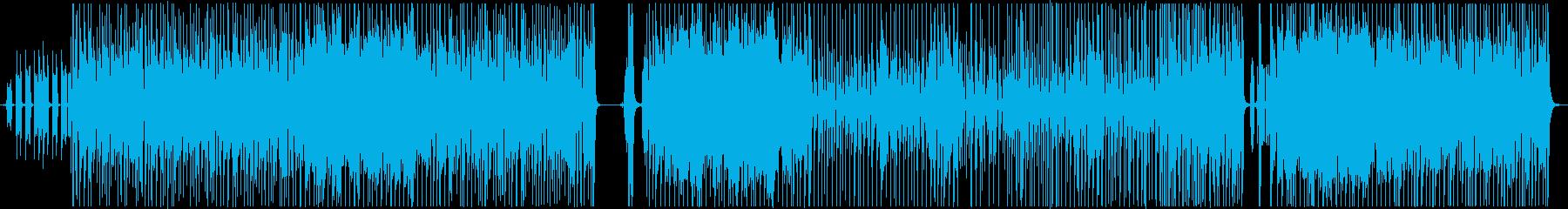 うたの再生済みの波形