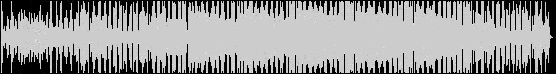 アコーステックギターのリズミックなBGMの未再生の波形