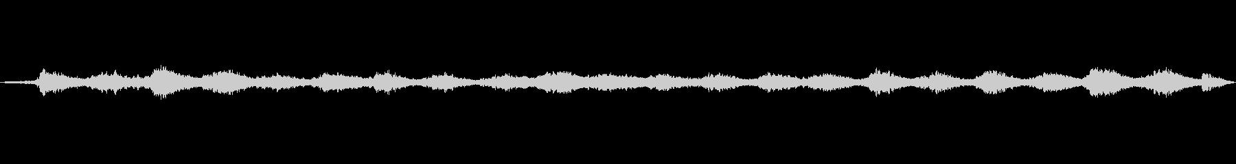 異空間な音の未再生の波形