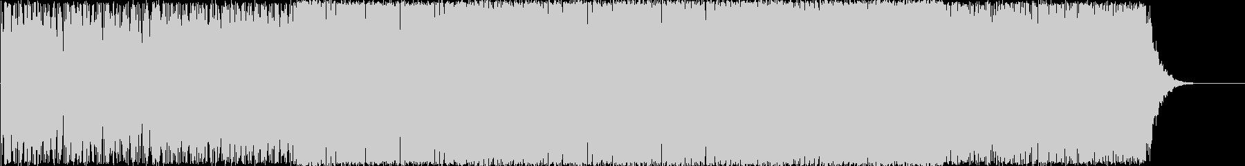 ピアノが心地よいエレクトロの未再生の波形