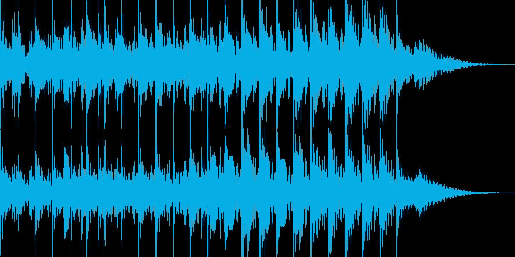 【10秒】上品な商品紹介/チュートリアルの再生済みの波形