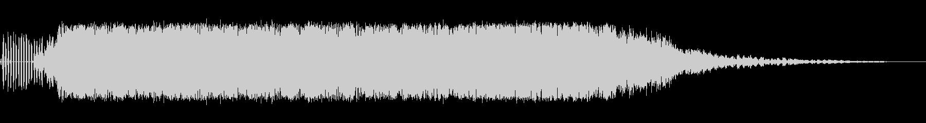 レーザーバズ1の未再生の波形