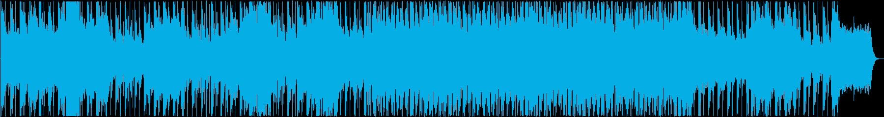 RPGのダンジョンや魔王の城のような曲の再生済みの波形