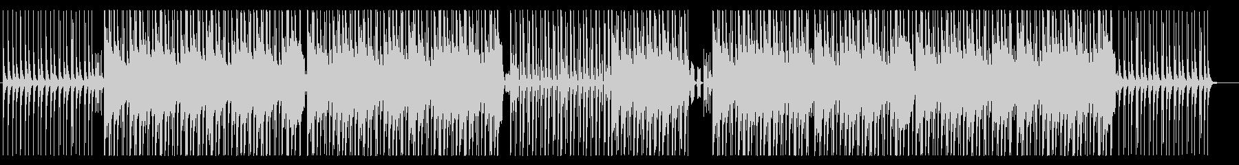 おしゃれで大人っぽいヒップホップの未再生の波形
