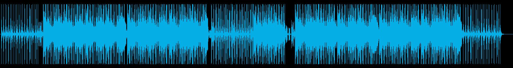 おしゃれで大人っぽいヒップホップの再生済みの波形