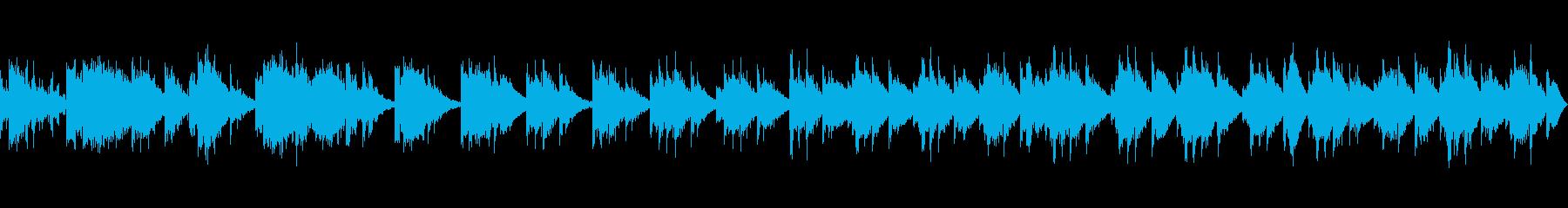 トランペットによる哲学的で神秘的なジャズの再生済みの波形