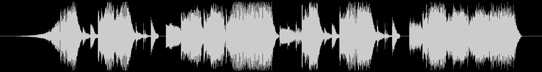 Jingle-Pop/Chip/Bassの未再生の波形