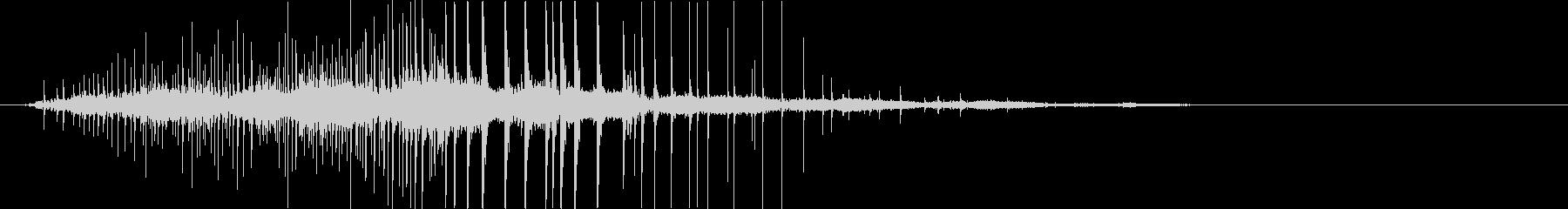 鋭い マーブルポットダーク10の未再生の波形