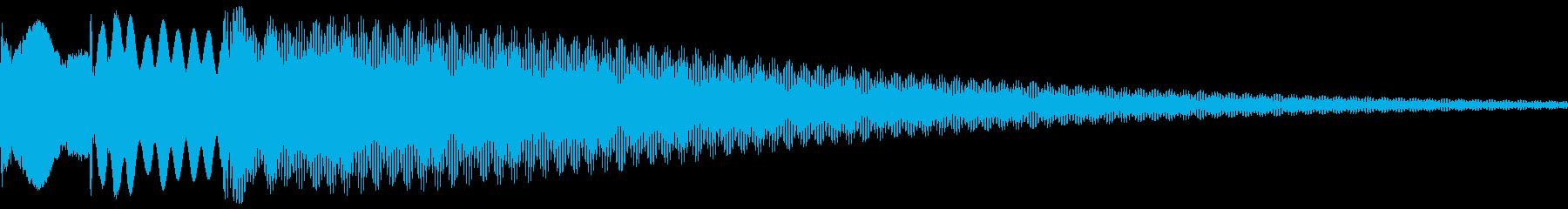 獲得音等の再生済みの波形