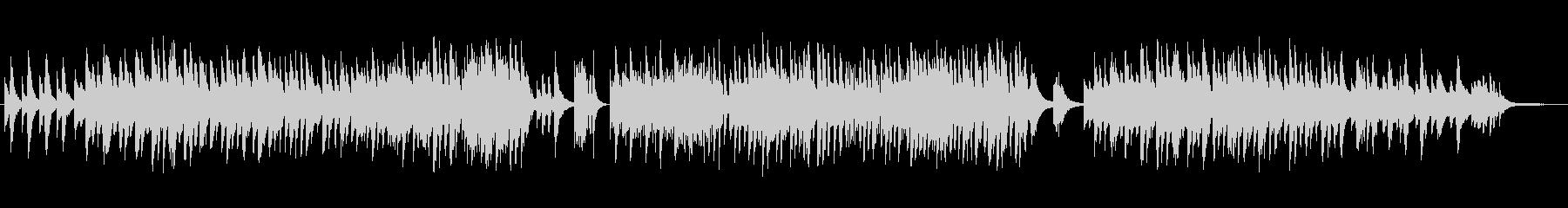 ゆったり癒し系のシンセ・ギターサウンドの未再生の波形