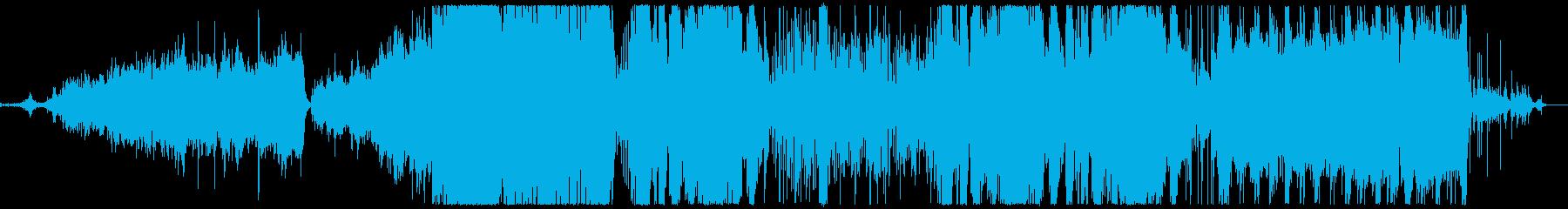 キラキラした魔法をイメージした曲の再生済みの波形