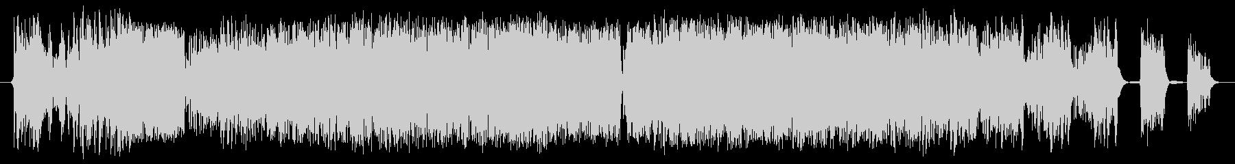 データ停止の未再生の波形
