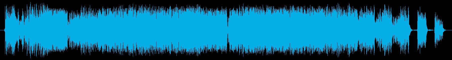 データ停止の再生済みの波形