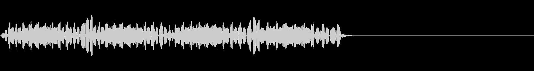 【効果音】不正解 バッドの未再生の波形