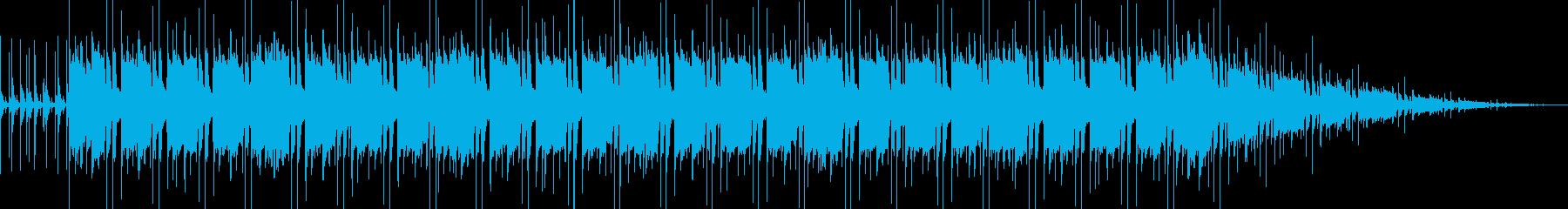 選択画面用BGMの再生済みの波形