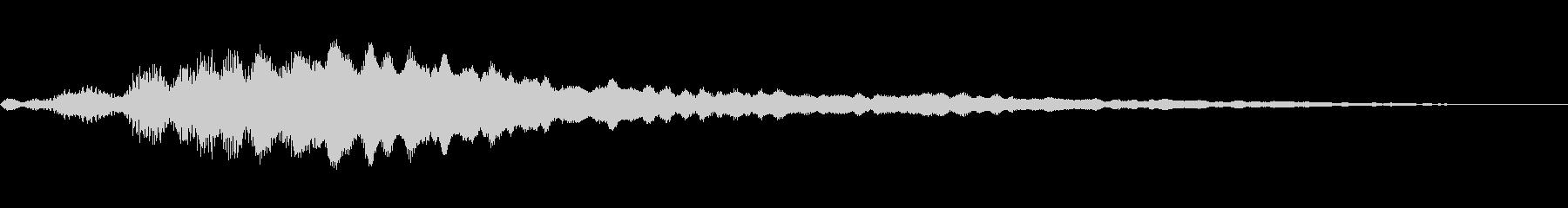 スパークリングベルのロゴの未再生の波形