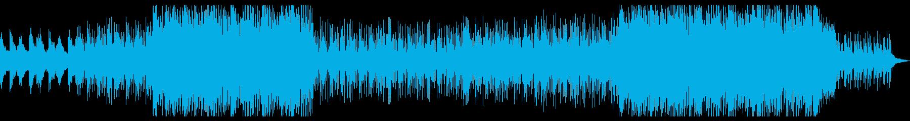 ピアノ+ストリングスの綺麗なハウスポップの再生済みの波形