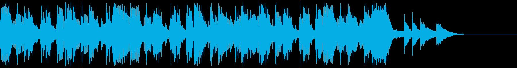 和風ダンス/SE/OPジングル/ロゴの再生済みの波形