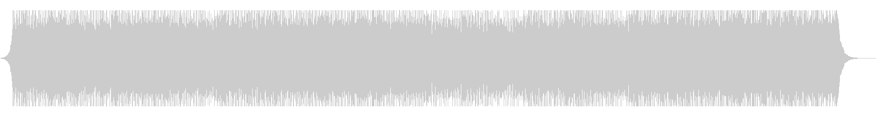 コーポレートローンチの未再生の波形