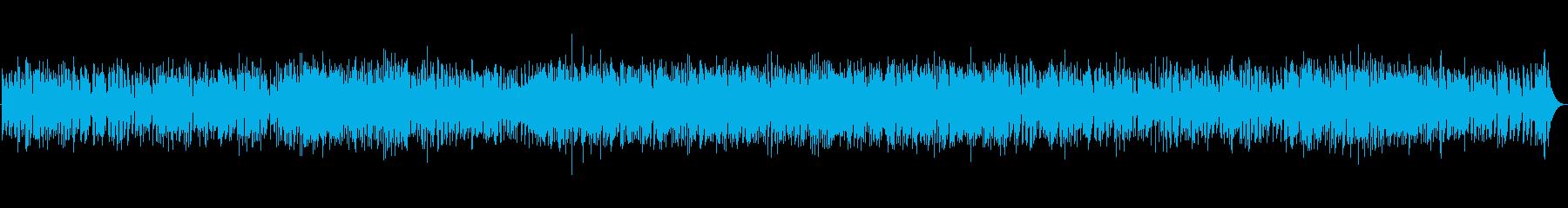 軽快なジャズの再生済みの波形