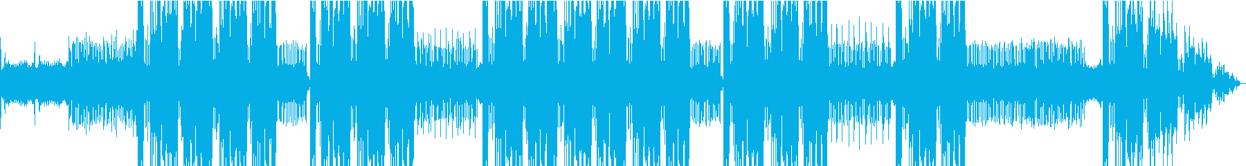 唸る808ベース重低音、NY Drillの再生済みの波形