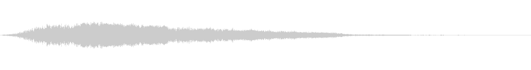 カートゥーン ホイッスル おもちゃ 01の未再生の波形