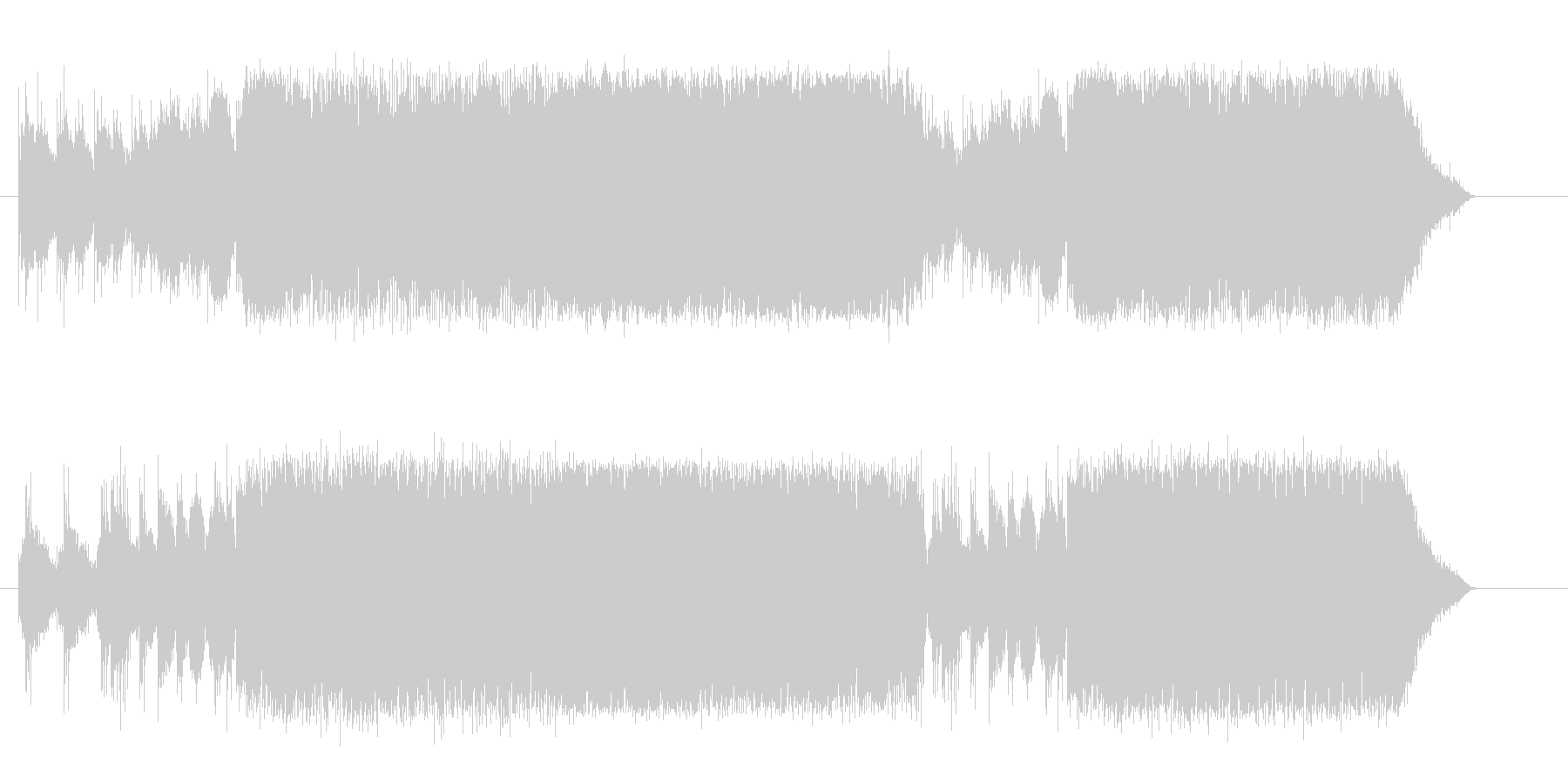 ネイチャーシリーズの楽曲の1つです。幻…の未再生の波形