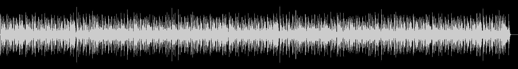 ほのぼの脱力系「ジングルベル」の未再生の波形