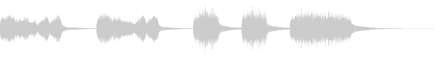 【ジングル】アコーディオンの可愛いBGMの未再生の波形