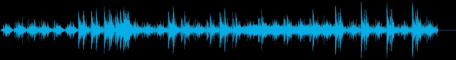 追跡、解読、調査、解読するシンセサウンドの再生済みの波形