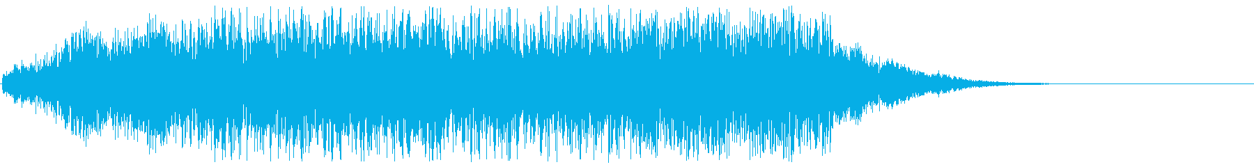 アニメにありそうなガンポッド(短め)の再生済みの波形